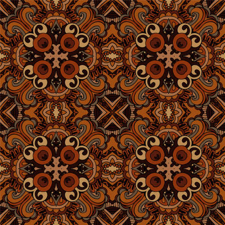abstract ethnic seamless pattern tribal Vector