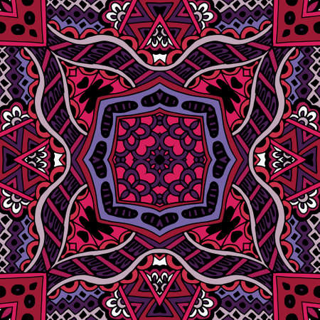 Abstract seamless ethnic   Vector