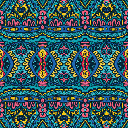 kaleidoscopic: Abstract Seamless Festive pattern background
