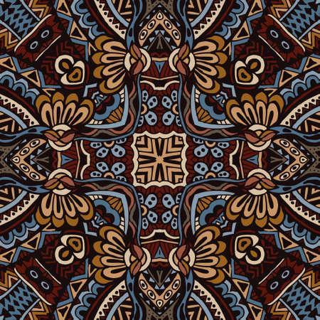 Vector  Ethnic Tribal Seamless Pattern Vector