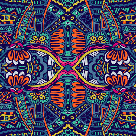 Abstract festiveal ethnic tribal pattern