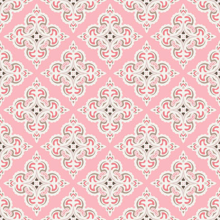 tiled: Seamless abstract tiled pattern vector Illustration