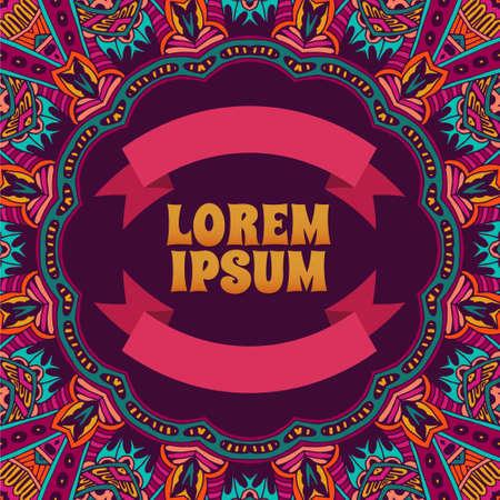 batik pattern: Abstract Tribal vintage ethnic seamless pattern ornamental. Poster template. Corporate identity design
