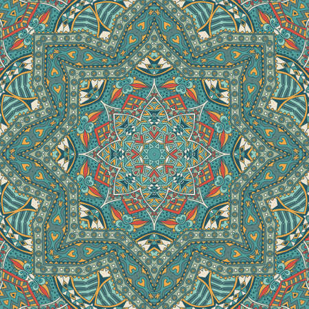 rapport: Abstract geometric mosaic vintage ethnic seamless pattern ornamental