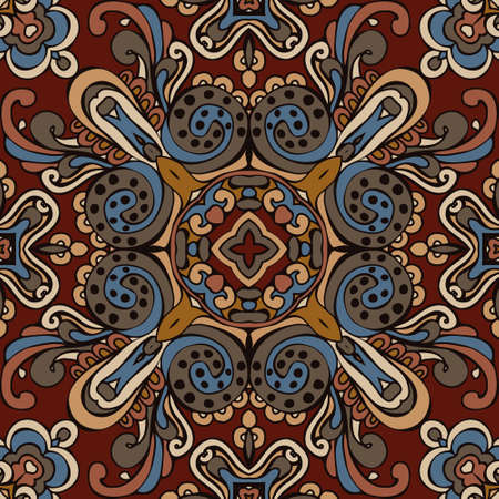 bohemia: tribal ethnic bohemia fashion abstract indian pattern ornamental motif Illustration