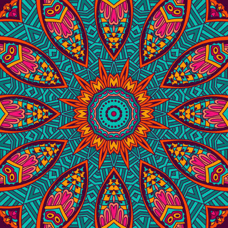 Abstract Tribal vintage ethnic seamless pattern ornamental