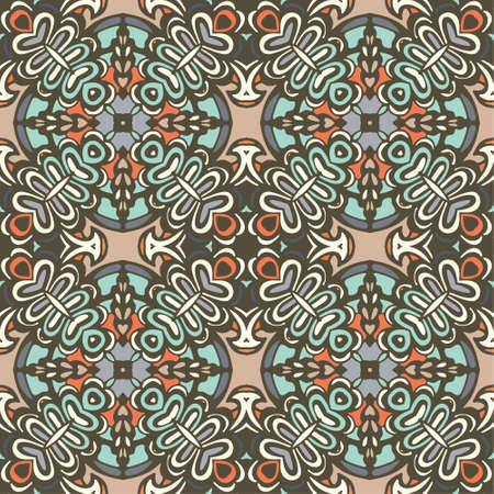 rapport: Seamless tiled pattern Royal luxury classical damask vector design Illustration