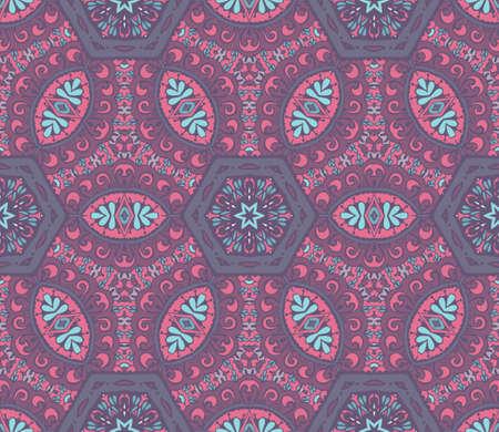 islamic pattern: Abstract geometric mosaic seamless islamic background pattern