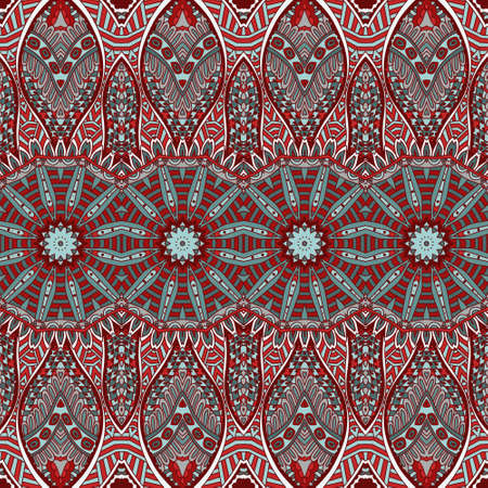 festive pattern: Vector Ethnic Abstract Seamless Festive pattern background ornament