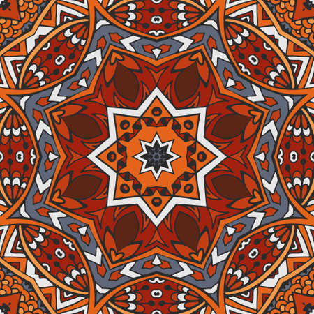 tribe: Vector african tribe design. vintage ethnic seamless pattern