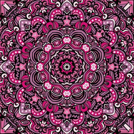 ethnic seamless vector pattern ornamental. Geometric print