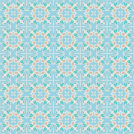 Abstract geometric seamless pattern background. Illustration