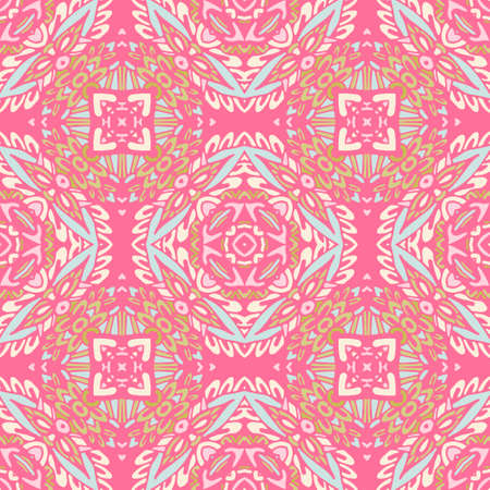 Vector ornamental Abstract Seamless Pattern