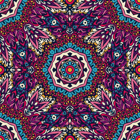 pattern: Festive colorful mandala pattern