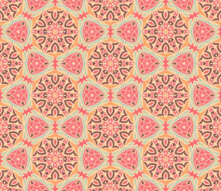 arabesque mosaic seamless pattern Ilustrace