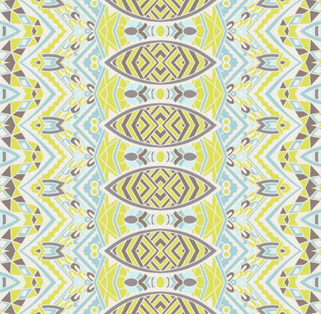 A seamless geometric striped pattern Ilustrace