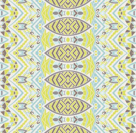 A seamless geometric striped pattern Illustration