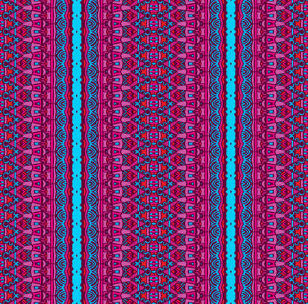 Abstract geometric striped seamless pattern Illustration