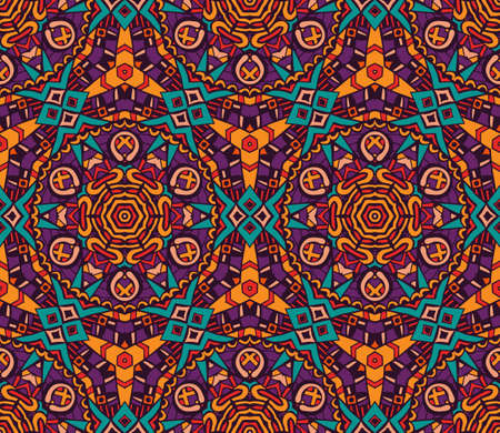 Nahtloses Muster des abstrakten geometrischen Mosaiks.