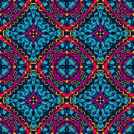 Colorful Festive Abstract Vector Pattern