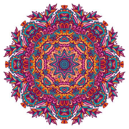 Hand drawn Mandala pattern.  イラスト・ベクター素材
