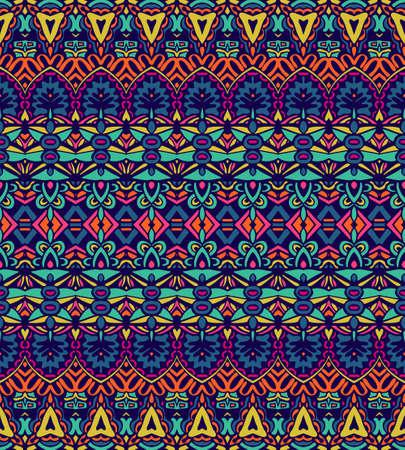 striped fabric geometric design in ethnic style