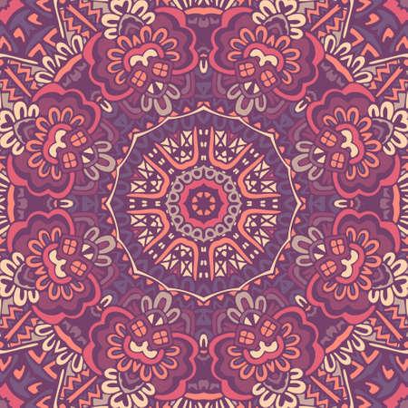 abstract geometric bohemian ethnic seamless vector pattern ornamental.