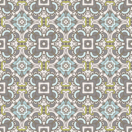 ethnic geometric seamless vintage medallion mandala ornamental pattern. Can be used for wallpaper, backgrounds, decoration for your design, ceramic, page fill and more.