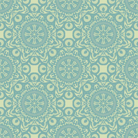 Damask seamless classic pattern. Vintage Baroque delicate vector background. Classic damask ornament for wallpapers, textile, fabric, wrapping, wedding invitation. Çizim