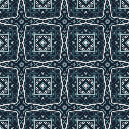Gorgeous seamless patchwork pattern tiles, ornaments. Can be used for wallpaper, backgrounds, decoration for your design, ceramic, page fill and more. Illustration