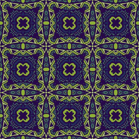 Seamless pattern vector geometric grunge tile background