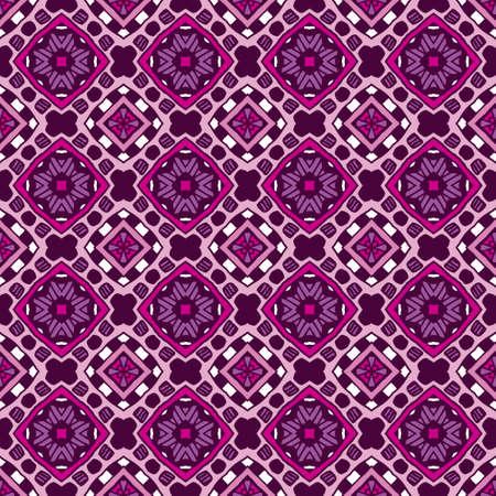 Damask seamless tiles vector design geometric pattern ornamental