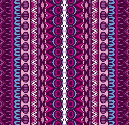 Tribal vintage abstract geometric ethnic seamless pattern ornamental. Indian striped bars textile design