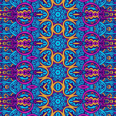 Abstract festive colorful bright vectorl pattern mandala art Banque d'images - 131949199