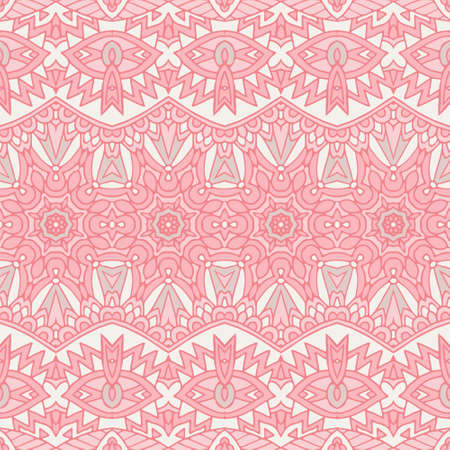 Cute pink Seamless abstract tiled pattern vector web background Banque d'images - 131955776