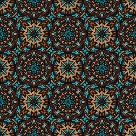 Tribal vintage abstract geometric ethnic seamless pattern ornamental.