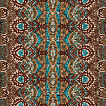 Vector seamless pattern african art batik ikat. Ethnic ptint vintage design.