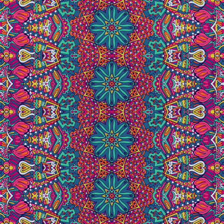 Tribal vintage abstract geometric ethnic seamless pattern ornamental