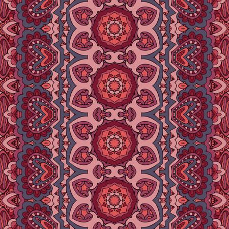 Trendy ethnic tribal festive geometric seamless pattern for fabric.