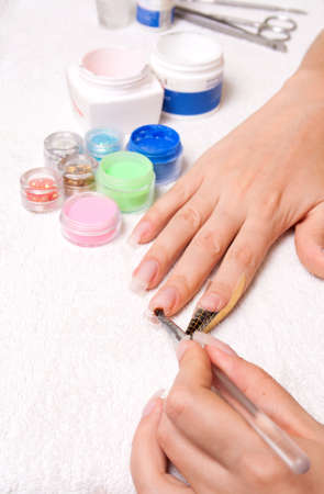 Manicure and design of nails, escalating