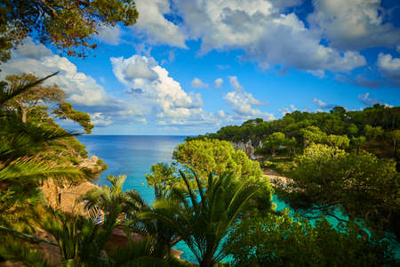 One of the magic turquoise bays of Mallorca