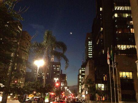 so: Night in So Paulo
