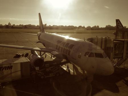 tam: Tam airplane - Sao Paulo - SP - Brazil