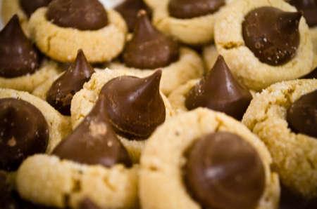 empreinte du pouce: Peanut Butter Cookies Thumbprint Blossom AKA
