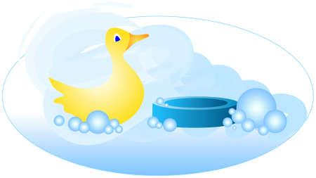 Bath Time Ducky Stok Fotoğraf - 808799