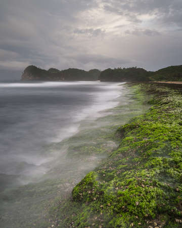 Parangdowo Beach on Malang Stock Photo