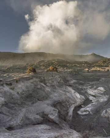 Bromo in Fine Morning Stock Photo