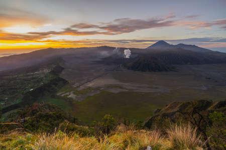 Bromo Mountain on Sunrise Indonesia Stock Photo - 117686802