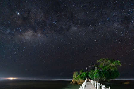 Mlikyway astrophotography in one of the best destination  in malang east java indonesia asia