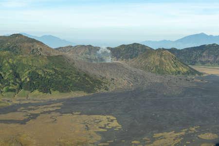 Mount Bromo located in Bromo Tengger Semeru National Park Malang Surabaya East Java in Near Bali Indonesia